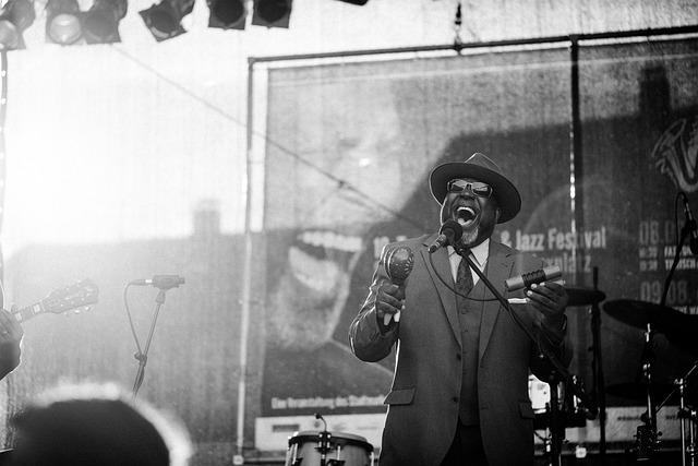 Jazz, Blues, Concert, Music, Singer, Americans, Bamberg