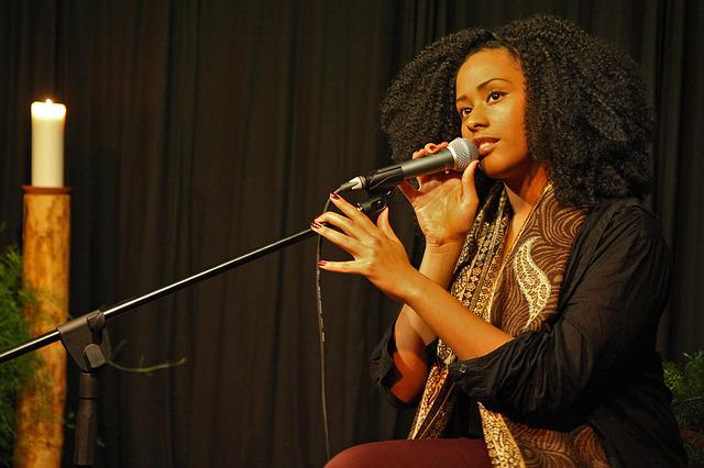 Music, Sing, Concert, Singer, Afro-american, Microphone