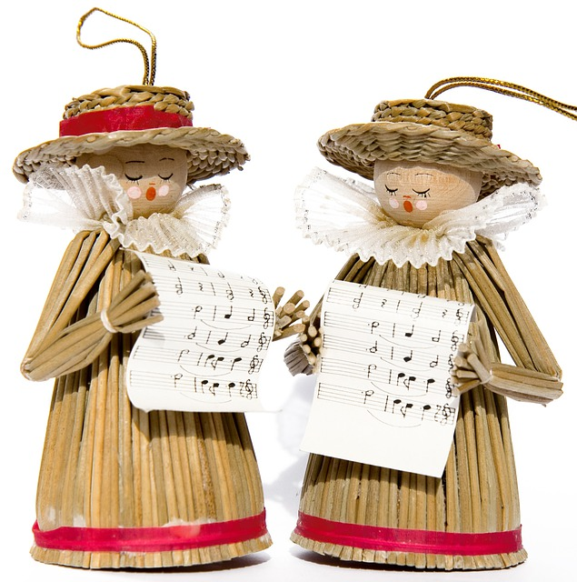 Carol Singers, Decoration, Singers, Music, Christmas