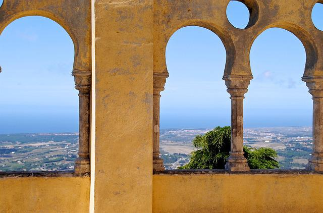 Arches, Portugal, Sintra, Castle, Fortress, Holiday