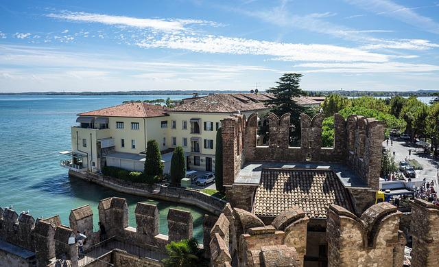 Scaliger Castle, Sirmione, Lake Garda, Architecture