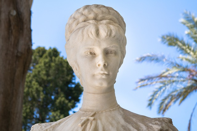 Elisabeth Amalie Eugenie, Statue, Sissi, Marble, Park