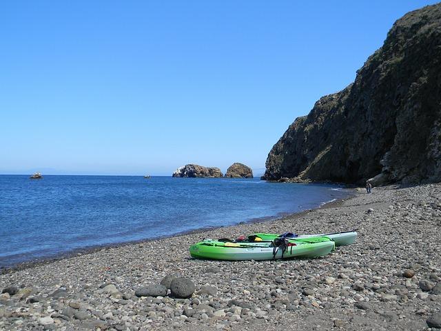Kayak, Kayaks, Beach, Sea Kayaking, Sit On Top Kayak