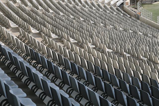 Rows Of Seats, Football Stadium, Sit, Stadium