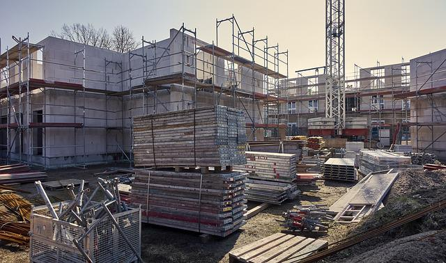 Construction, Site, Crane, Armor, Material