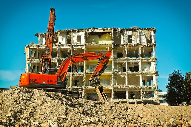 Site, Excavators, Construction Work, Work, Demolition