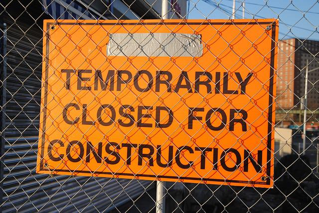 Site, Website, Under Construction, Sign, Closed