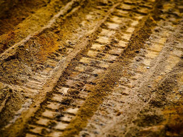 Sand, Traces, Tracks In The Sand, Reprint, Site