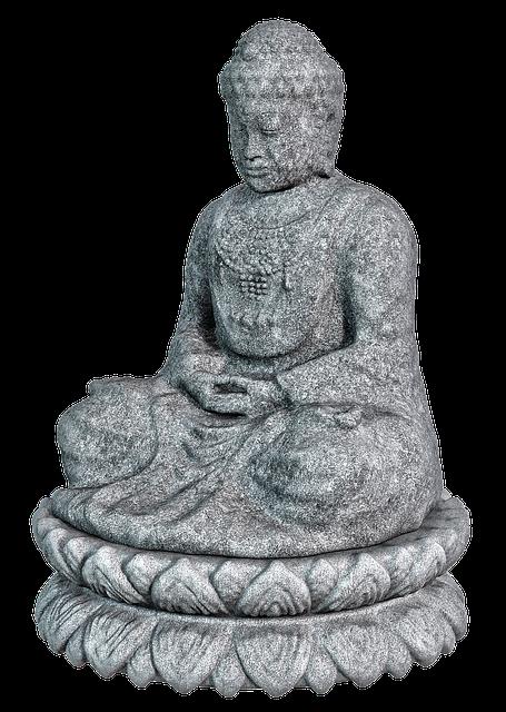 Buddha, Stone Figure, Sitting, Sculpture, Siddhartha