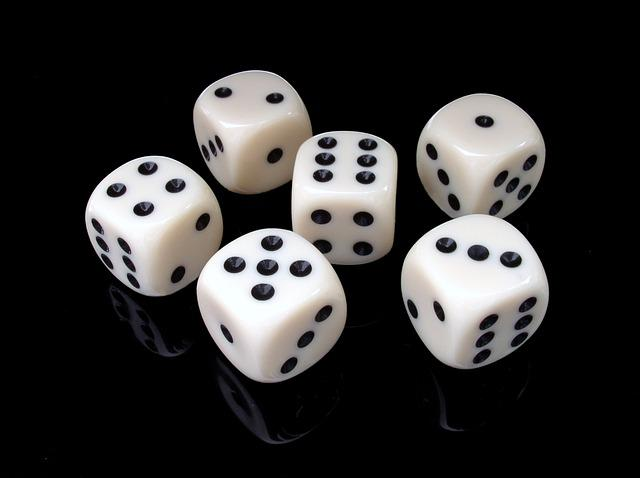 Cube, Six, Gambling, Play, Lucky Dice
