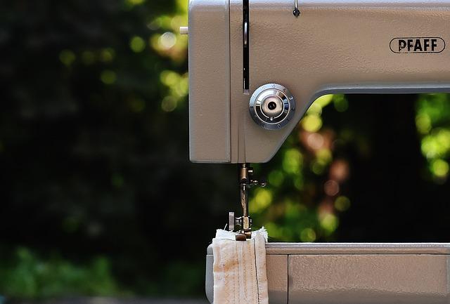Sewing Machine, Pfaff, Sixties, Old, Model 91, Sew