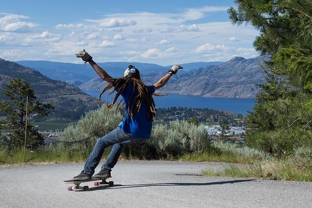 Skateboard, Longboard, Skater