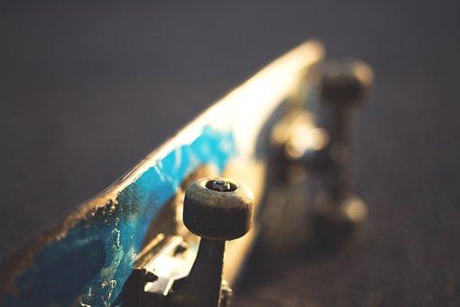Macro, Skateboard, Sport
