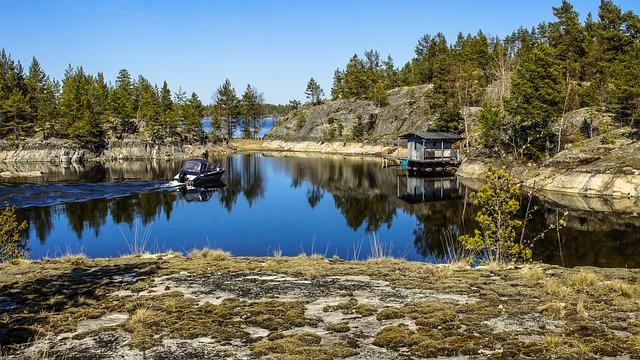 Nature, Ladoga, Skerries, Lake, Landscape, Water