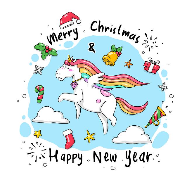 Doodle, Sketch, Cartoon, Unicorn, Horse, Kids