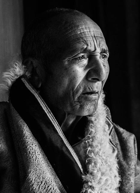 In Gannan Prefecture, Tibetans, Sketch