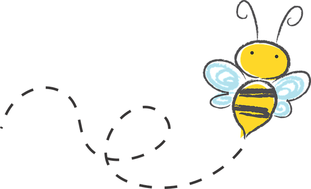 Bee, Cartoon, Bumble, Honey, Icon, Buzz, Sketch, Yellow