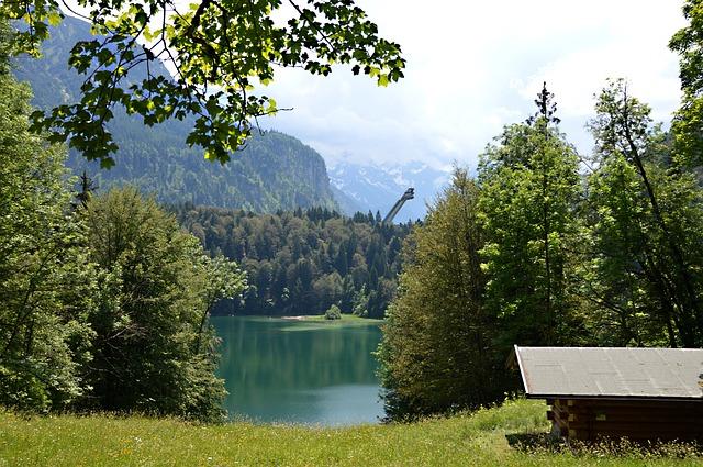 Skiflug, Hill, Oberstdorf, Ski Sport, Ski Jump