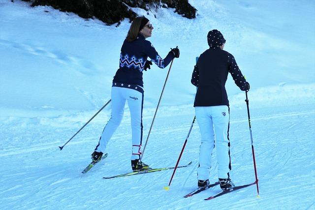 Two, Ski, Skis, Snow, Winter, Skiing, Relaxation