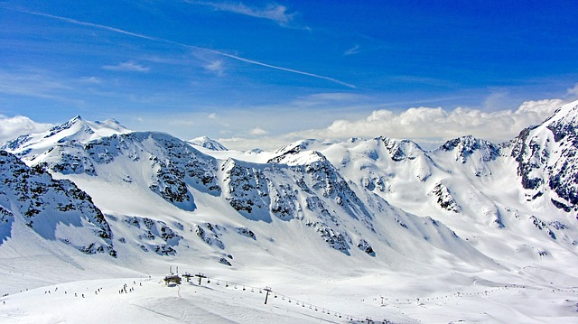 Solda, Sudtirol, Sudtyrol, Ski Resort, Ski Slopes