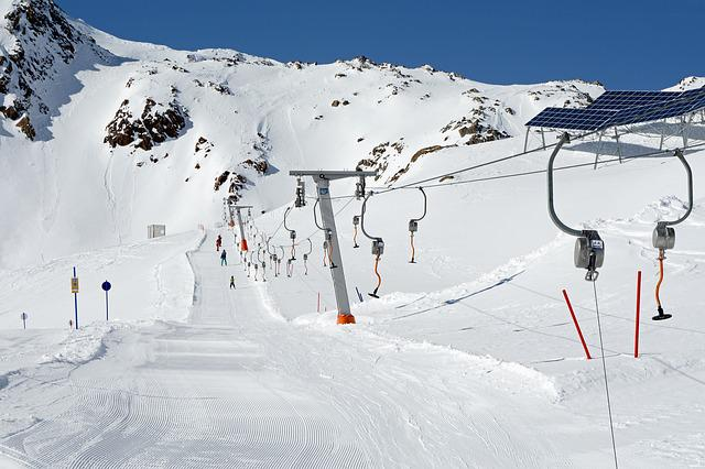 Ski Lift, Skiing, Winter, Ski Area, Ski Run