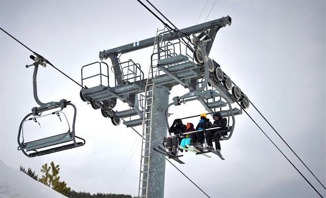 Ski Lift, Ski Tow, Chair Lift, Winter, Ski Resort