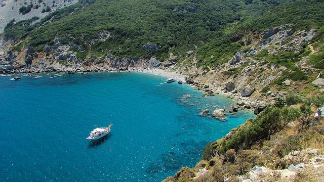 Greece, Skiathos, Island, Bay, Sporades, Mediterranean