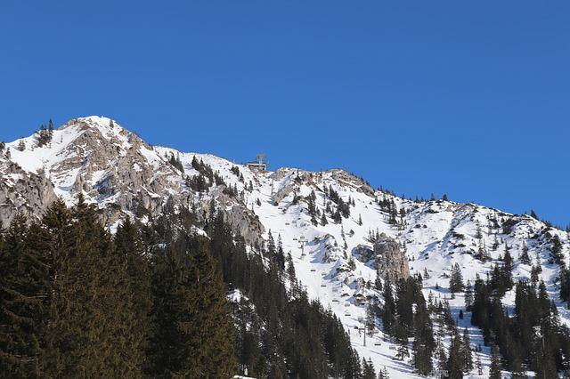Skiing, Snow, Mountain, Winter, Mountainside, Chairlift
