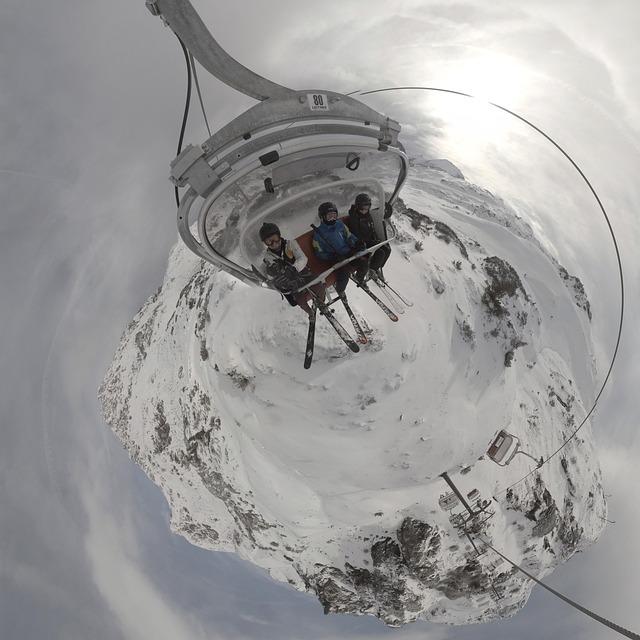 Chairlift, Ski, Ski Chairlift, Skiing, Skiing Resort