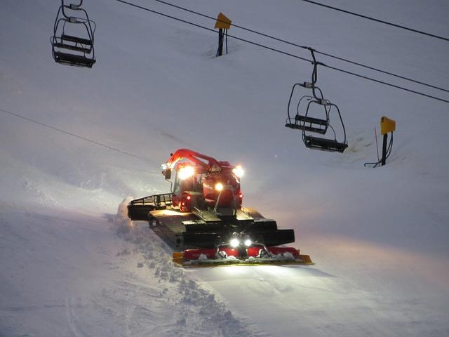 Snow, Snowblower, Snowcat, Winter, Skilift
