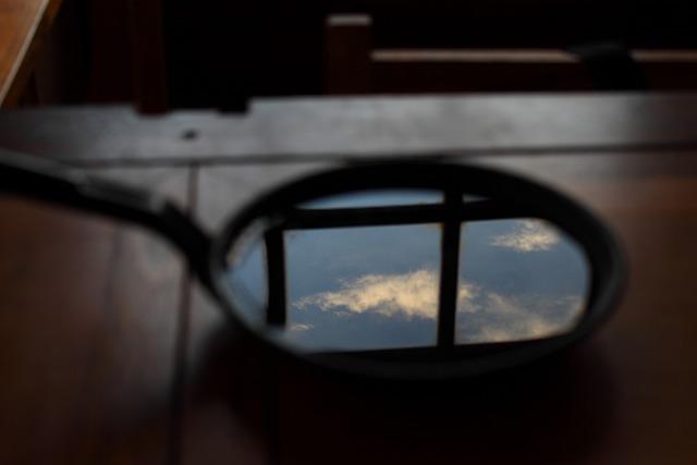 Skillet, Sky, Clouds, Blue Sky, Kitchen, Reflection