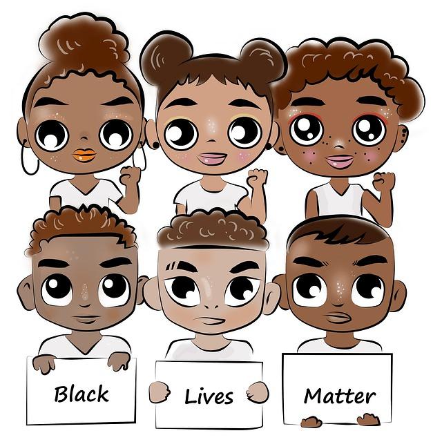 Racism, Drawing, Skin Color, Black Lives Matter