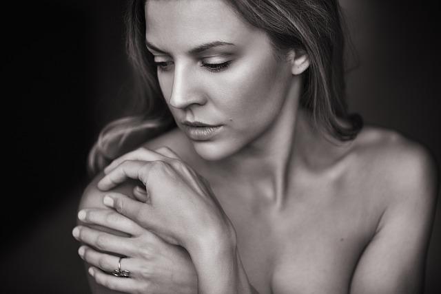 Pretty Woman, Portrait, Sexy, Hands, Pretty, Face, Skin