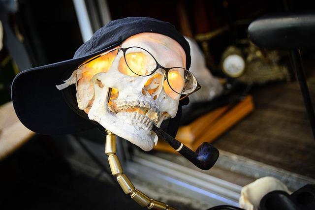 Skull And Crossbones, Flea Market, Paris