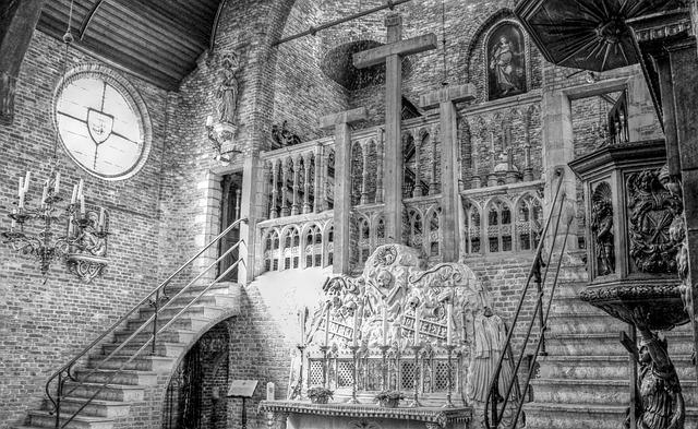 Jerusalem Church, Skull, Bruges, Church, Chapel, Summer