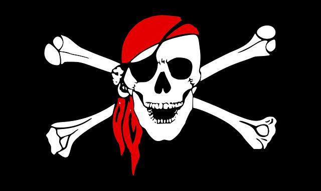 Pirate, Flag, Bones, Skull, Danger, Symbol