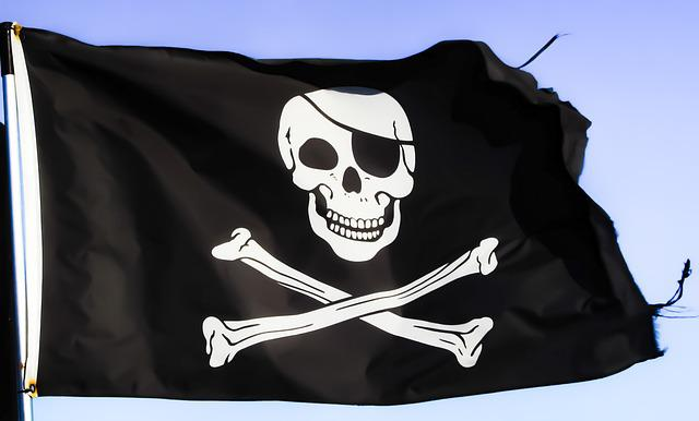 Pirates, Flag, Skull, Symbol, Skeleton, Pirate Ship