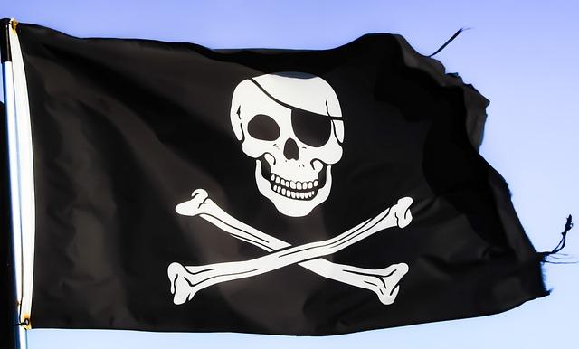 Pirates, Flag, Skull, Symbol, Skeleton, Pirate Ship