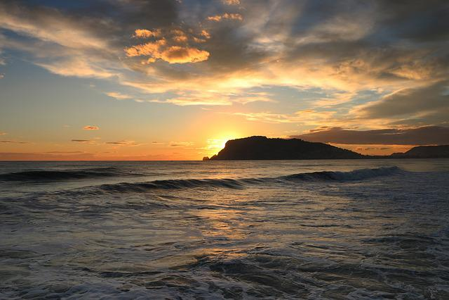 Alanya, Antalya, Turkey, Sunset, Sky, Marine, Solar