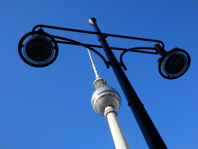 Berlin, Lantern, Landmark, Sky, Architecture, Germany