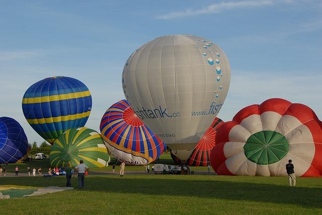 Hot-air Ballooning, Ball, Sky, Blue, Flight, Travel