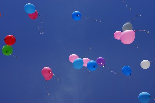 Balls, Sky, Balloons, Balloon