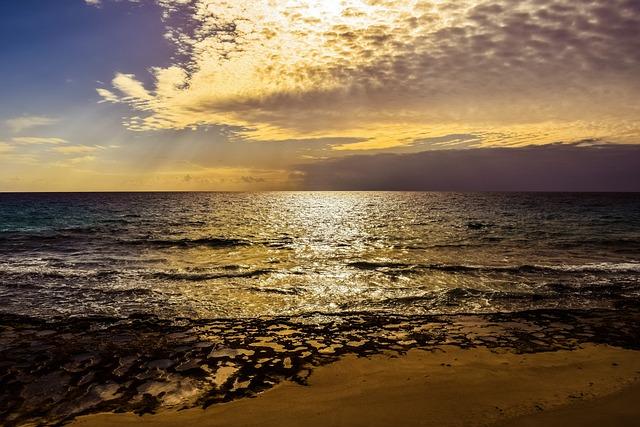 Sunset, Beach, Nature, Dusk, Sky, Clouds, Sea, Coast