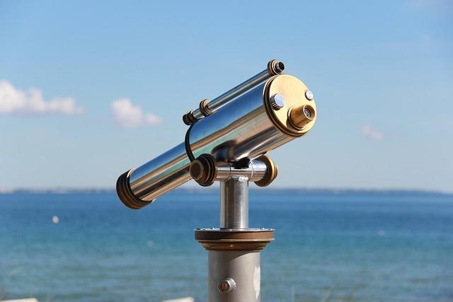 Sky, Travel, Waters, Binoculars, Summer, Holiday