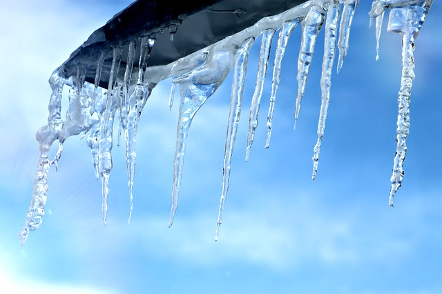 Ice, Cold, Icicle, Water, Sky, Blue, Winter, Light