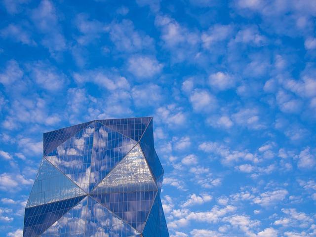 Santiago, Chile, Sky, Cloud, Blue, Cirrocumulus