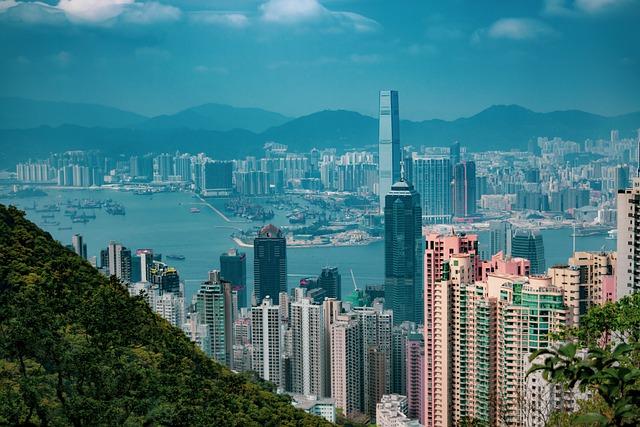 City, Building, City View, Hong Kong, Sky