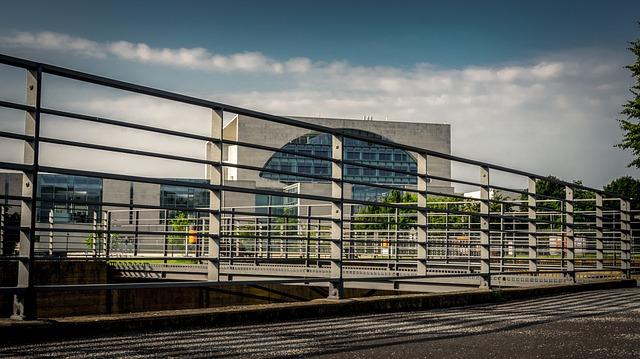 Architecture, Modern, City, Sky, Horizontal