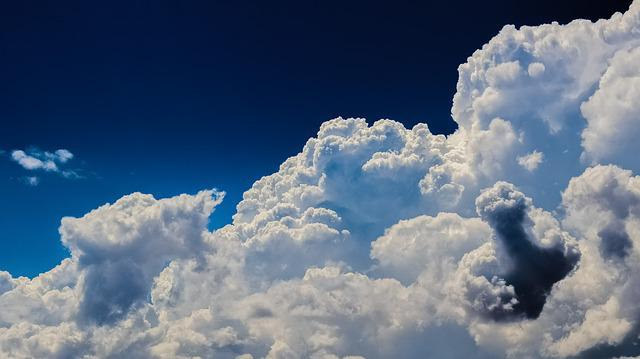 Clouds, Cumulus, Sky, Nature, Dramatic, Cloudscape