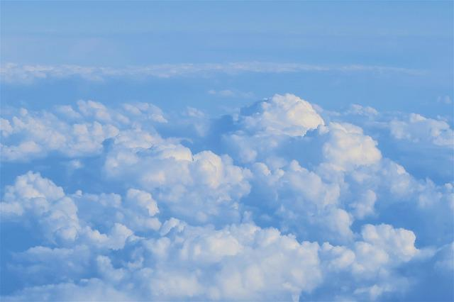 Clouds, Nature, Sky, Blue, It's In The Air